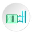 Radiator icon cartoon style vector image vector image