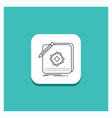 round button for design app logo application vector image