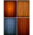 Set wood backgrounds