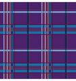 Tartan lilac seamless pattern vector image vector image