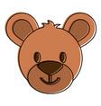 teddy bear icon image vector image vector image