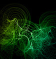 Abstract Lines vector image