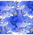Abstract anemone pattern vector image