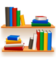 Bookshelves vector | Price: 1 Credit (USD $1)