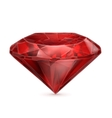Ruby red icon vector image