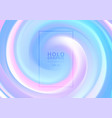 abstract holographic pastel and neon color design vector image vector image