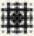 halftone circles pattern monochrome texture vector image vector image