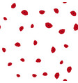 kiss pattern seamless vector image vector image