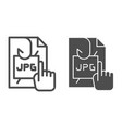 phishing personal information line and glyph icon vector image