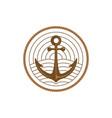ship anchor with monoline sea and radar