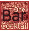 The Best Bar Tools For Novice To Pro Bartenders vector image vector image