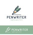 writing copywrite and publishing theme hand drawn vector image vector image