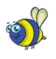 Bee cartoon flying vector image