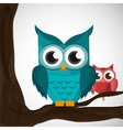 an Owl graphic design vector image vector image