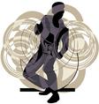 Dancing man vector image vector image