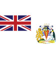 flag british antarctic territory