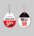 happy easter sale promotion and special offer vector image vector image
