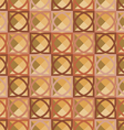 Pattern of squares vector image vector image