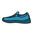 tennis shoes sport isolated icon vector image vector image