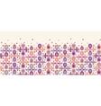 Abstract drops horizontal seamless pattern vector image vector image