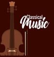 classic cello instrument icon vector image vector image