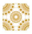 element corner decorations gold vector image