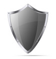 Medieval knight shield isolated vector image