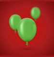 modern golden balloons background for happy vector image vector image