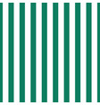 pattern green and white vertical stripe seamless vector image vector image