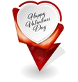 Valentines Day infographic banner vector image vector image