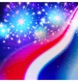 abstract american flag colors vector image vector image
