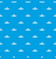 clothes button fabric pattern seamless blue vector image vector image
