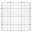 graph paper coordinate paper grid vector image vector image