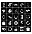 jewelry and accessories icons vector image