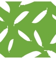 Pattern Silhouette Peas vector image vector image