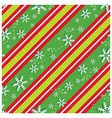 Seamless pattern in Christmas colors vector image vector image