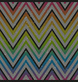 zigzag geometric seamless pattern vector image vector image