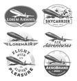 Air badges vector image