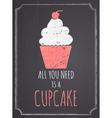 Chalkboard Cupcake Design