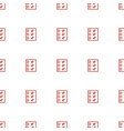 checklist icon pattern seamless white background vector image vector image