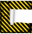 danger background vector image vector image