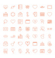 day icons vector image vector image