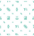 grey icons pattern seamless white background vector image vector image