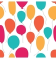 party balloons pattern vector image