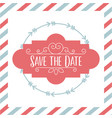 save the date special vector image vector image