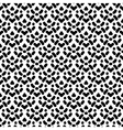 Simple seamless pattern in black and white vector image vector image