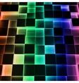 Disco Abstract Square Box vector image