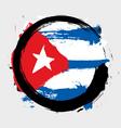 Cuba flag vector image vector image