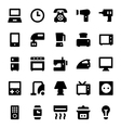 Home Appliances Icons 1 vector image