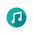 music icon audio vector image